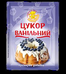 Ванильній сахар 8 г.