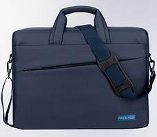 Сумка чехол Package для ноутбука 13 14 дюймов синий