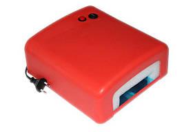 УФ лампа 818 для маникюра красная