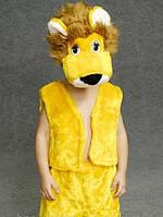 Карнавальный костюм Лев мех