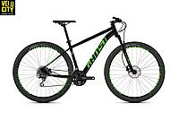 """Велосипед Ghost Kato 2.9 29"""" 2019 черно-зеленый"""