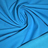 Коттон стрейч костюмный с начесом голубой ш.140 ( 12200.090 )