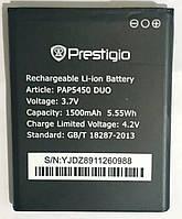 Original Акумулятор Prestigio PAP5450 DUO/ 5451/5457 MultiPhone 1500mah