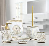 Набор аксессуаров для ванной золотой Irya - Karlis gold