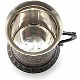 Кружка бронзовая черная, фото 2