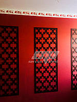 Интерьерная перегородка, декоративные панели, деревянные ширмы, резные экраны, фото 1