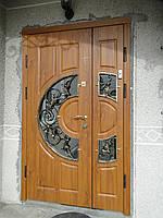 """Двері вхідні металеві з МДФ накладками від виробника """"Ягуар"""""""