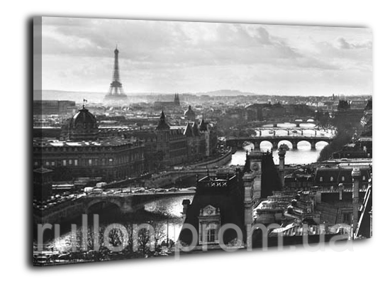 "Картина на холсте YS-Art XP102 ""Старый париж"" 50x70"
