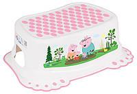 Подножка антискользящая для ванной Tega (Peppa Pig)