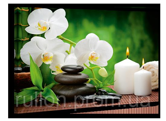 """Картина на холсте YS-Art XP103 """"Цветы и свечи"""" 50x70"""