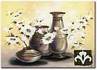 """Картина на холсте YS-Art XP105 """"Вазы с цветами"""" 50x70         , фото 2"""
