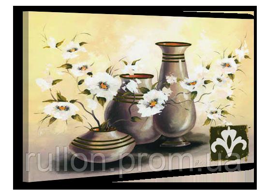 "Картина на холсте YS-Art XP105 ""Вазы с цветами"" 50x70"
