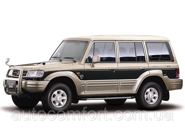Лобовое стекло на Hyundai Galloper (Внедорожник) (1991-2003), Mitsubishi Pajero (Внедорожник) (1982-1990) , фото 2