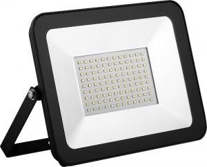 Прожектор LED-SLТ- 50W  220В 3500lm 6500K SOKOL алюмінієвий корпус, гартоване скло