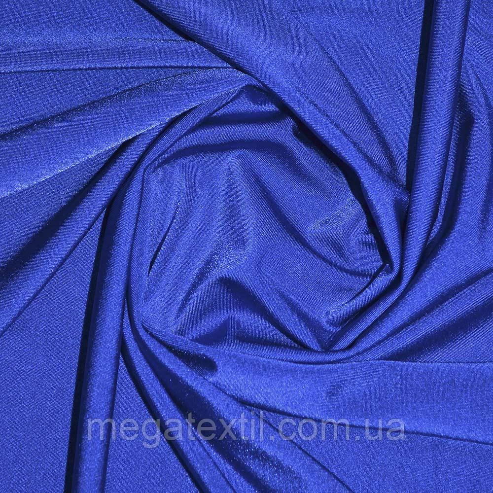 Лайкра синяя (электрик) люминисцетная ш.160