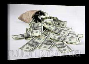 "Картина на холсте YS-Art XP110 ""Доллары"" 50x70"