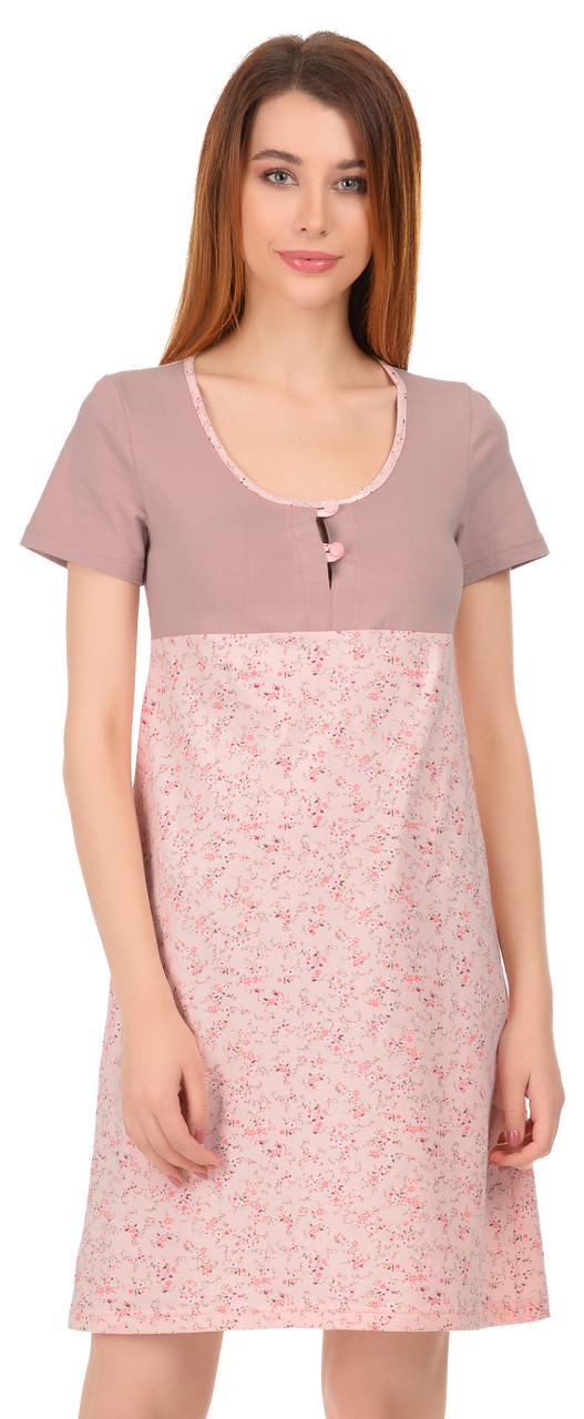 Нічна сорочка для годуючих мам 0031