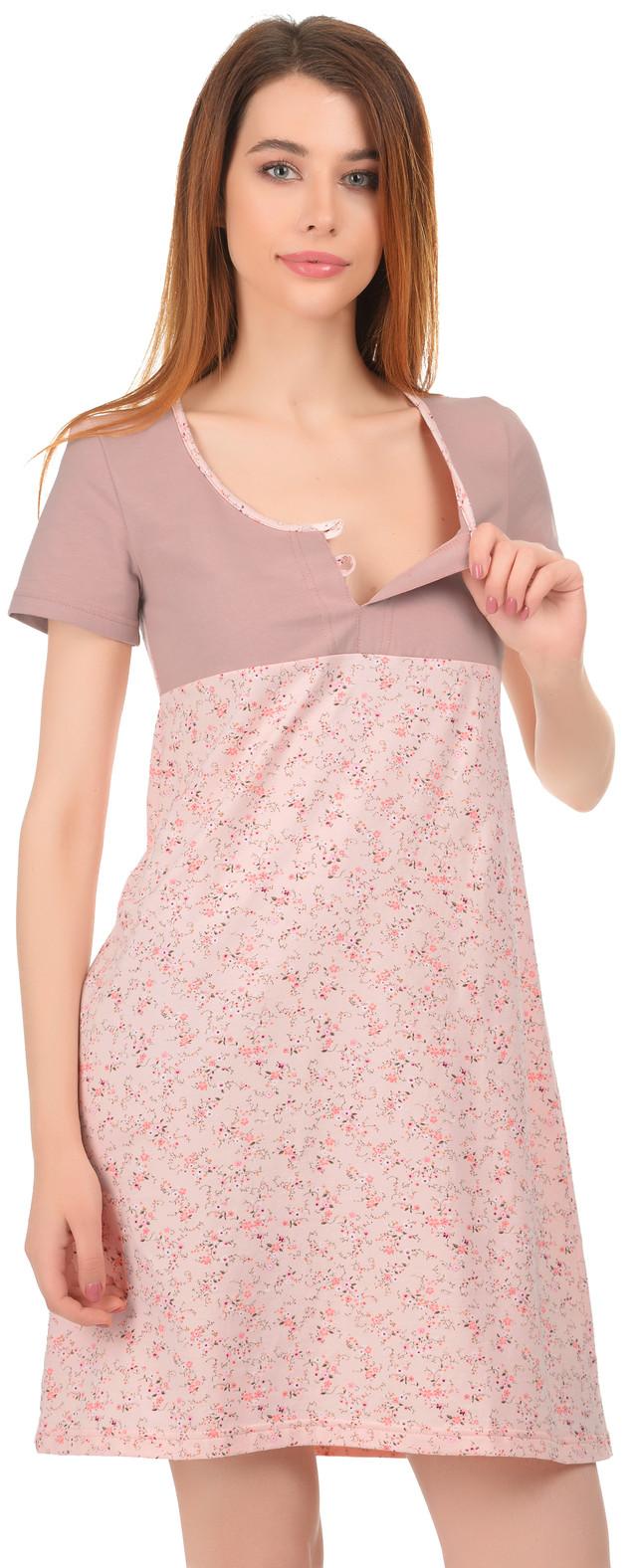 Нічна сорочка для годуючих мам 0031 610e6c1a555bf