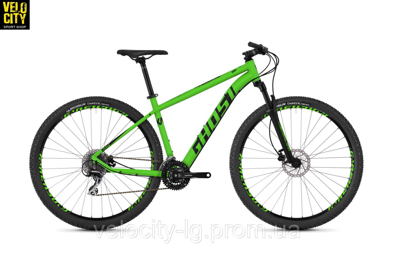 "Велосипед Ghost Kato 3.9 29"" 2019 зеленый, фото 1"