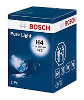 Автолампи H4 60/55W 12V Pure Light картон