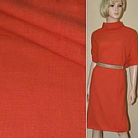 Лен-коттон стрейч оранжево-красный ш.140 (12630.004)