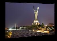 """Картина на холсте YS-Art XP124 """"Памятник Родина-мать (Батьківщина-мати), Киев"""" 50x70"""