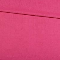 Лен костюмный малиновый в мелкий рубчик ш.140 (12635.005)
