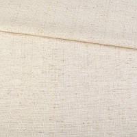 Лен костюмный с мелкими штрихами молочно-бежевый ш.145 (12636.020)
