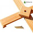 """Сосна """"Пышная зеленая"""" на деревянной подставке 180 см. + гирлянда в подарок, фото 2"""