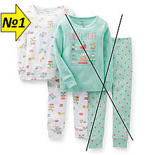 Пижама Carter's (№1), размер 3Т (92-98см)