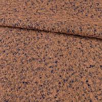 Лоден букле-мохер фиолетово-терракотовый ш.145
