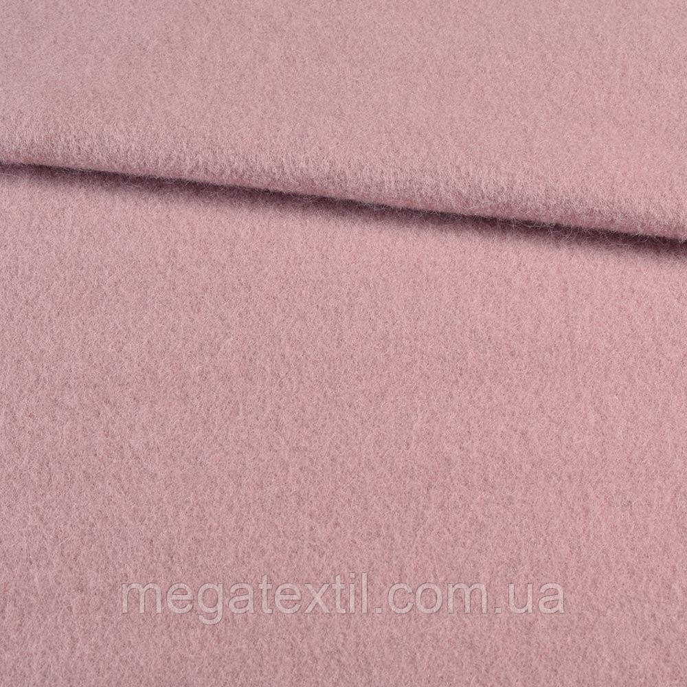 Лоден мохер розовый с бежевым оттенком, ш.157