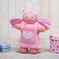 Вязаная кукла «Девочка Лея» ФРЕЯ