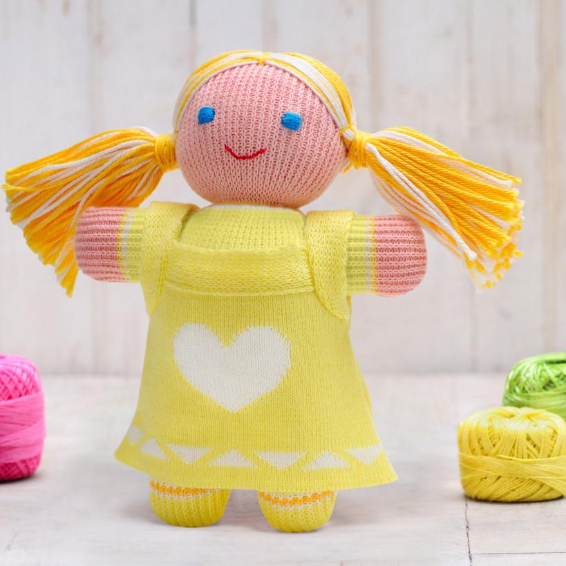 Вязаная кукла «Девочка Лиза» ФРЕЯ