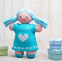 Вязаная кукла «Девочка Лия» ФРЕЯ