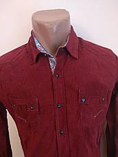 Рубашка мужская плотная микровельветовая высокого качества SPORTSMAN, Турция, фото 3