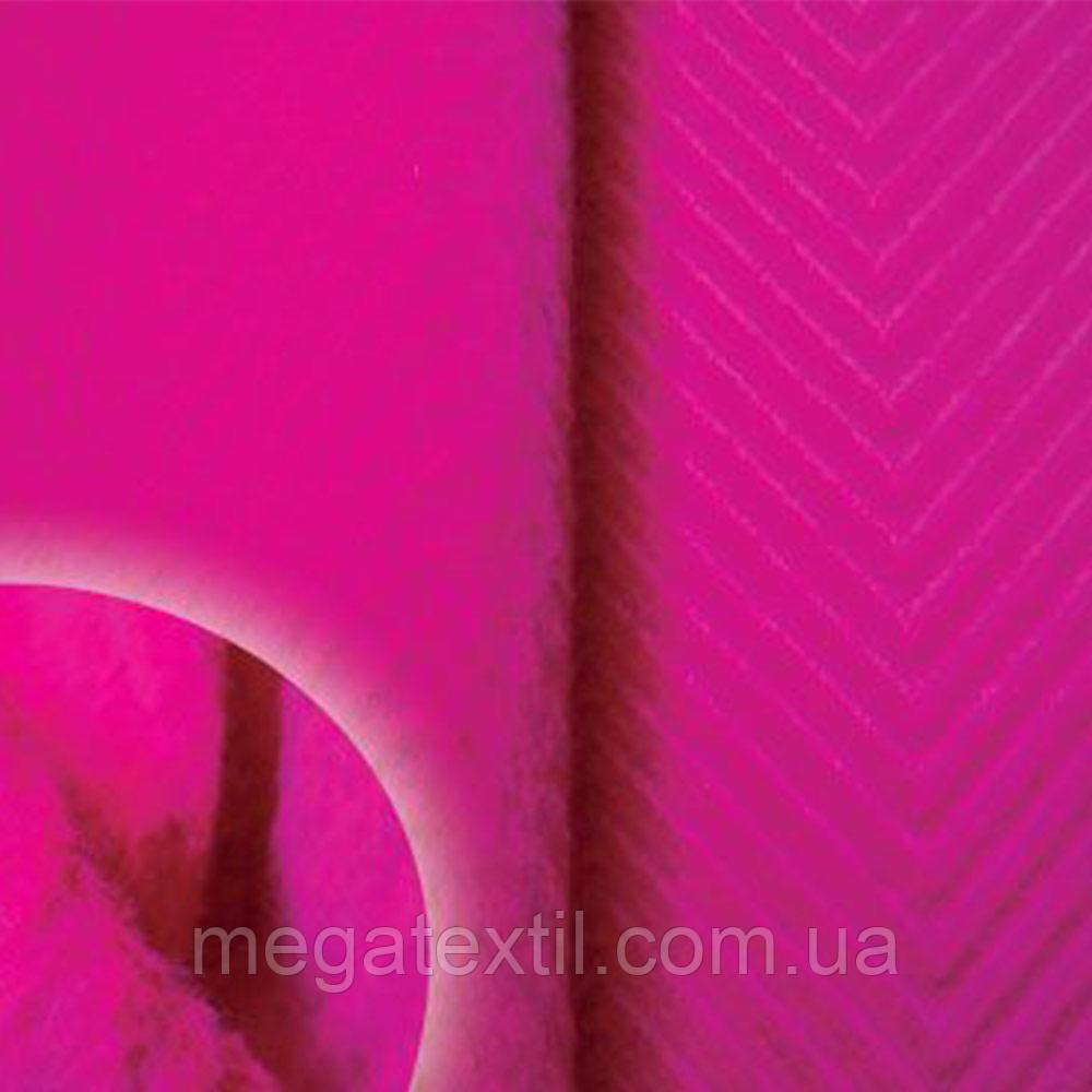 """Ткань пальтовая малиновая """"ёлочка"""" диагональ ш.150 ( 13003.003 )"""