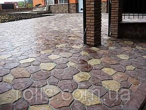 Бетонная брусчатка, тротуарная плитка