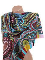 Женский шарф платок широкий из вискозы