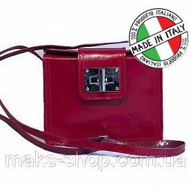 befec593413c Итальянская компактная кожаная сумка на плечо Bottega Carele - Maks Shop-  надежный и перспективный интернет