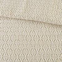 Жаккард пальтовый звездочка молочный, ш.155 (13201.003)