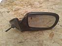 Зеркало заднего вида правое Mazda 323F BA 1994-1997г.в. черное механическое, фото 2