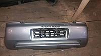 Бампер задний Mazda 323 FBA хетчбек серебро 1994-1997г.в.