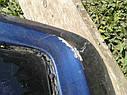 Крышка багажника со стеклом Mazda 323 C BA 1994-1997г.в. купе синяя, фото 4