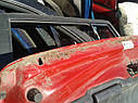 Крышка багажника со стеклом Mazda 323 F BA 1994-1997г.в. 5дв красная, фото 4
