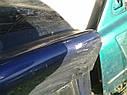 Крышка багажника со стеклом Mazda 323 C BA 1994-1997г.в. купе синяя графити, фото 4