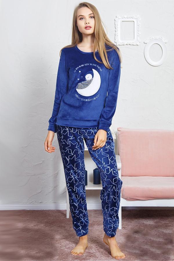 c4a6999b73edf Пижама женская домашний костюм Vienetta плюшевая: продажа, цена в ...