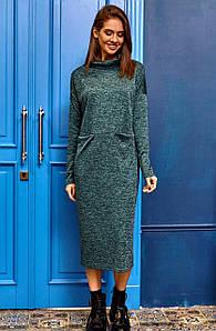 (S, M, L) Молодіжне подовжене зелене плаття Erika