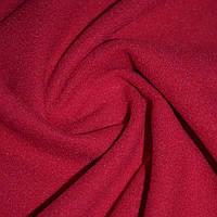 Ткань пальтовая красная на трикотажной основе ш.156 (13321.010)