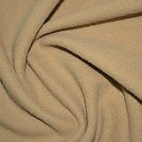 Ткань пальтовая бежевая на трикотажной основе ш.154 (13321.012)